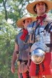 人画象历史服装的 免版税图库摄影