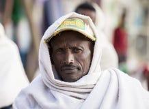 人画象在埃塞俄比亚 库存图片