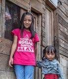 人画象从塔娜Toraja的 免版税图库摄影