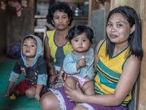 人画象从塔娜Toraja的 库存图片