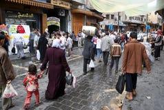 人们阿勒颇 免版税库存照片