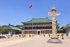 人` s中华民国,北京的国立图书馆 免版税图库摄影