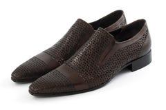 人` s鞋子 免版税库存图片