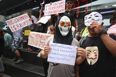 人Fawkes屏蔽 免版税图库摄影