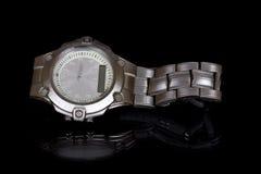 人s手表,反射 库存图片