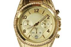 人s时髦的手表 免版税库存照片