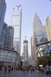人s解放纪念碑,重庆,中国 免版税库存照片