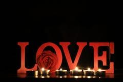 什么是爱? 库存图片