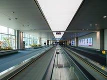 仁川国际机场内部  免版税库存图片