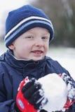 今天下雪 免版税库存图片