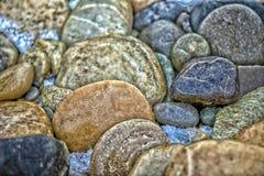 今天和明天石头 图库摄影