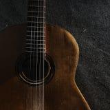 仍然吉他生活 免版税库存照片