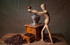 仍然咖啡生活 免版税库存照片