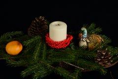 仍然圣诞节生活 库存图片