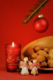 仍然圣诞节生活 免版税图库摄影