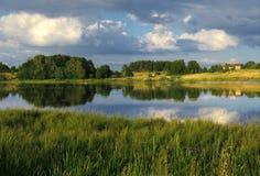 仍然湖 免版税图库摄影