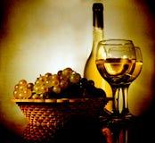 仍然生活葡萄酒 图库摄影