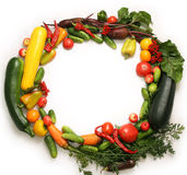 仍然生活蔬菜 免版税库存照片