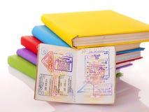 仍然登记生活护照 图库摄影