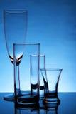 仍然空的玻璃寿命 免版税库存图片