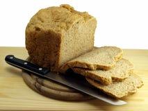 仍然被切的面包生活 库存照片