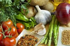 仍然食物生活 免版税库存照片