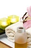仍然aromatherapy复制生活空间 免版税图库摄影