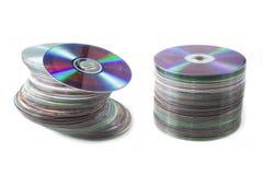 仍然CD的dvd寿命 库存照片