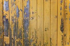 从一个木破旧的板条的背景 库存照片
