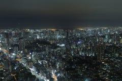 从一个的射击高层建筑物在东京 免版税图库摄影