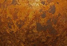 从一个美丽的花瓶的古铜色纹理 免版税库存照片
