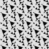 从三角的构成 模式无缝的向量 免版税库存照片