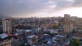 从上面城市的看法,老巴统 免版税库存照片