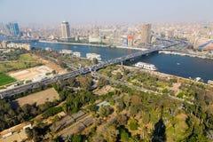 从上面的开罗 库存图片