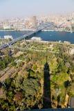 从上面的开罗 免版税图库摄影
