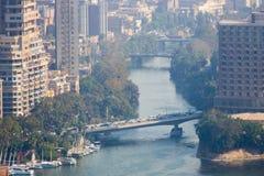 从上面的开罗 库存照片