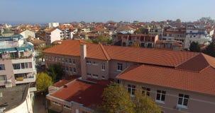 从专科的顶端看法在波摩莱,保加利亚 免版税库存照片