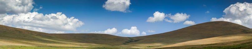 从中间土耳其的全景风景 免版税库存照片