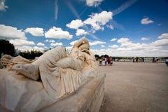 从事园艺雕象凡尔赛 免版税库存照片