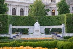 从事园艺hofburg 免版税库存图片