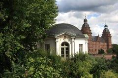 从事园艺johannisburg宫殿 免版税库存图片