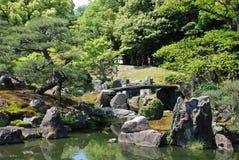 从事园艺kansai ninomaru 免版税库存照片