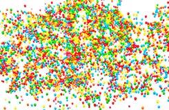 从五颜六色的球的抽象背景 免版税库存照片