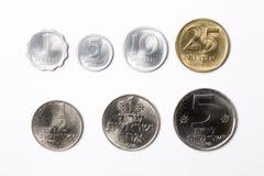 从以色列的硬币 免版税库存图片