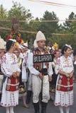从保加利亚的民间组 库存图片