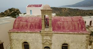 从修道院的顶端看法 影视素材