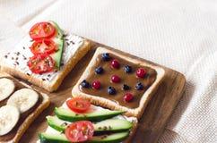 从健康和卫生食品的Fletley 免版税库存图片