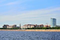 从内娃的看法300周年o公园的海滩的  免版税图库摄影