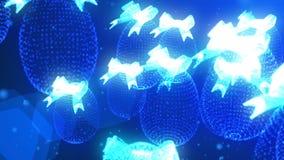 从几何元素的复活节彩蛋,抽象 影视素材