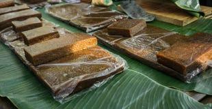 从印度尼西亚中爪哇省的Jenang kue蛋糕传统食物 库存照片